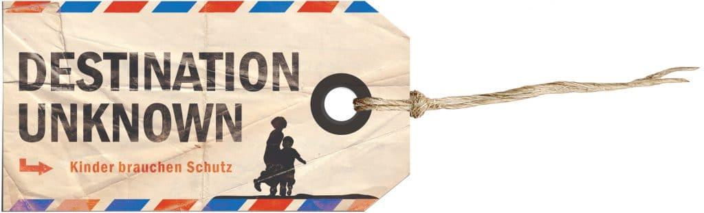 Das Logo der Kampagne Destination Unknwon