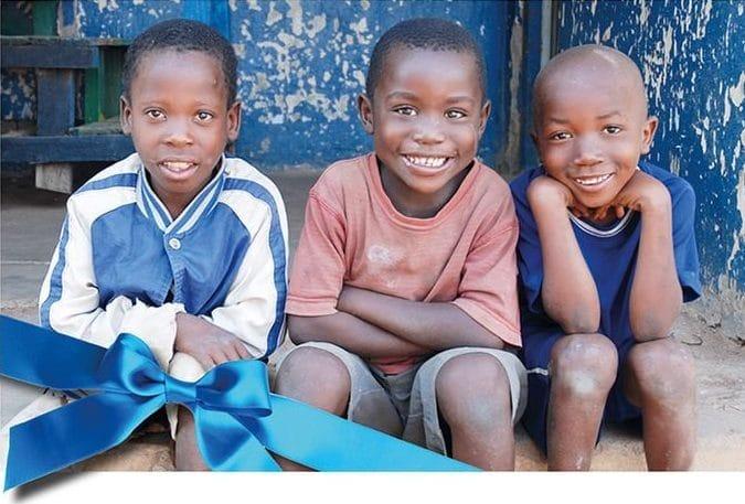 Screenshot einer Geschenkurkunde