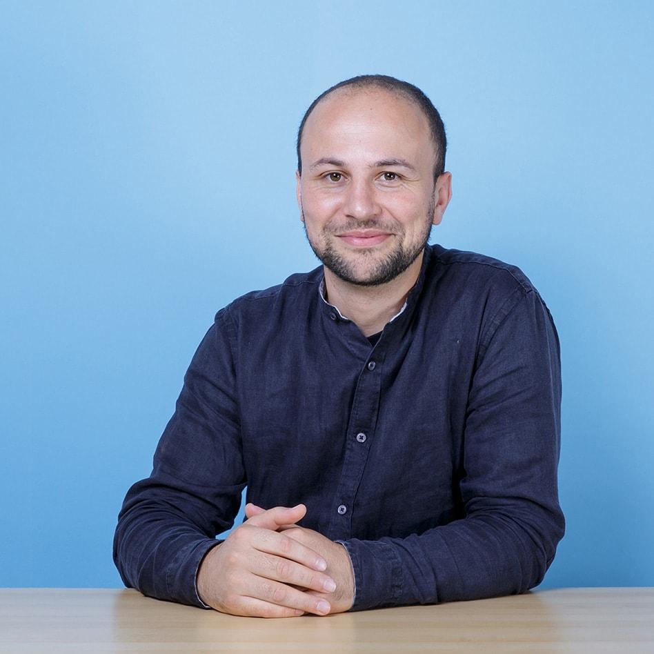 Portrait von Hafid Derbal