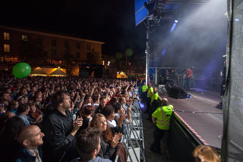 Konzert am imagine-Festival vom Freitag Abend.