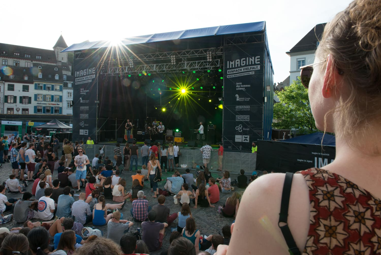 Am imagine Festival 2014 war der Wettergott guter Laune und die Stimmung ausgezeichnet.
