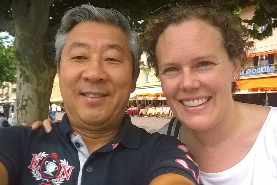 Ein Selfie von Patrik und Christine von Arx