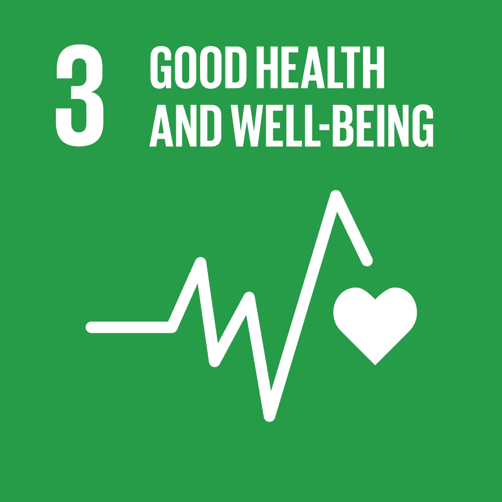 Goal 3: Ensure healthy lives and promote well-being for all at all ages