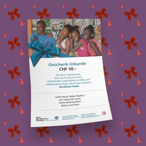 Shop picture gift certificate