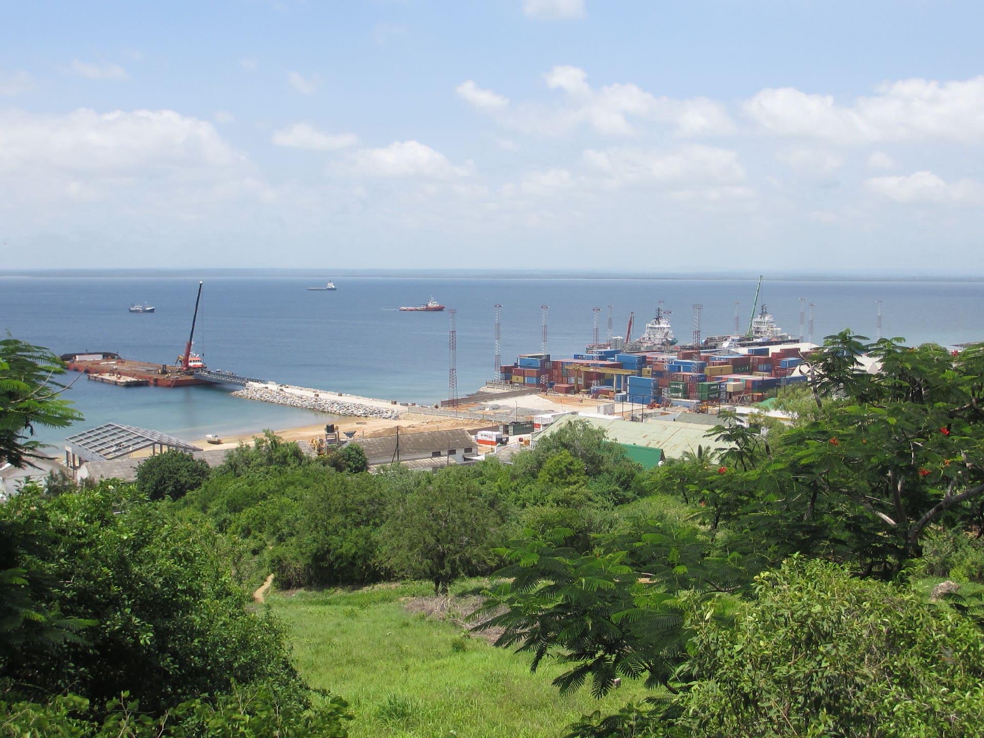 Hafen von Pemba - Zufluchtsort für Flüchtende