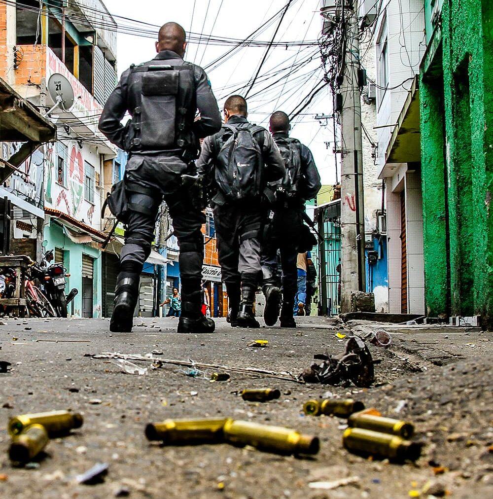 Operação policial no Complexo do Alemão; 02-02-2017; fotos:Bruno Itan