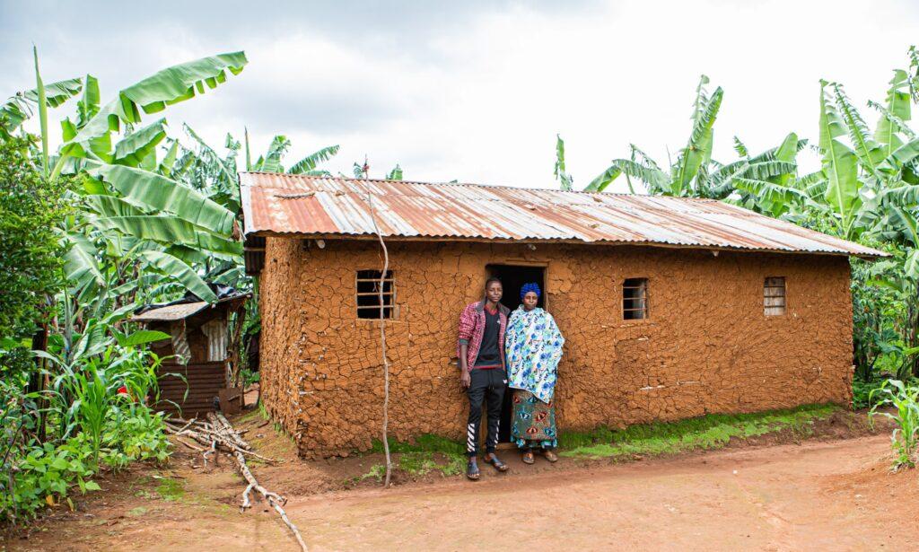 Mberwa und seine Mutter