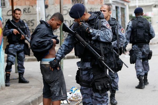 In Brazil, the police behave as in the civil war and repeatedly target innocent people.