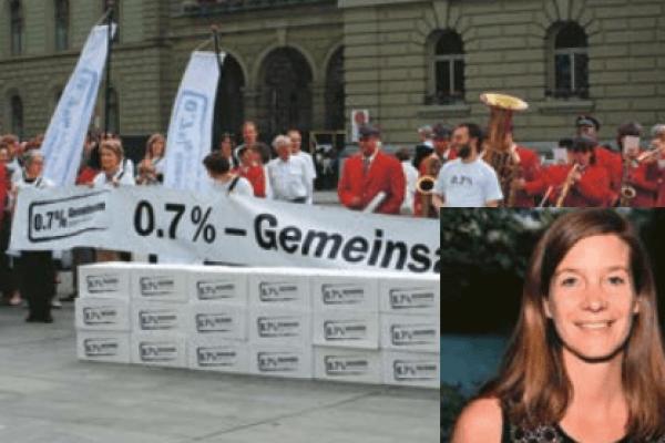 Kristina Lanz_0.7 percent initiative