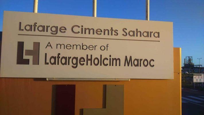 Lafarge-Holcim in Westsahara