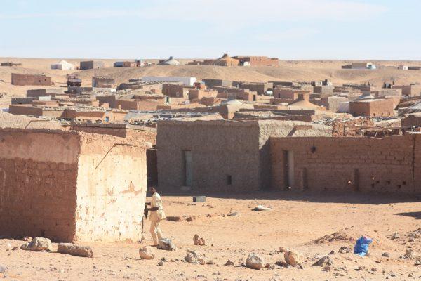 Das sahraouische Flüchtlingslager in der Nähe von Tindouf (Algerien).